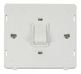 Click Definity 20A Double Pole Switch Insert SIN622PW