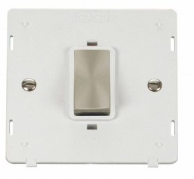 Click Definity 45A DP Switch Single Plate Insert SIN500PWBS
