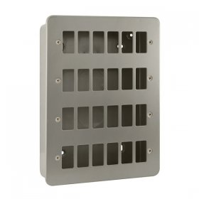 Click Metal Clad 24 Gang Grid Pro Front Plate CL20524