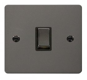 Click Define Black Nickel 20A Double Pole Switch FPBN722BK