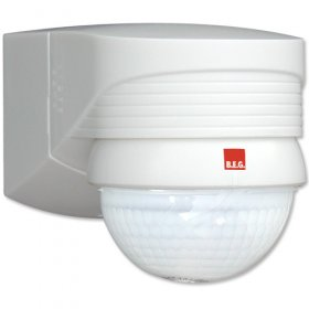 BEG 91008 White Corner IP54 Occupancy Motion Detector 2000W