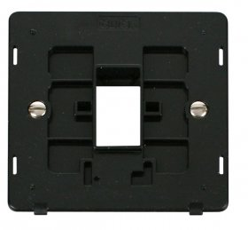 Click Definity 1 Gang Plate 1G Aperture Switch Insert SIN401BK