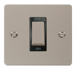 Click Define Pearl Nickel 1G 45A Double Pole Switch FPPN500BK