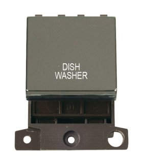 Click MiniGrid MD022BNDW B/Nickel 20A DP Dishwasher Sw Module