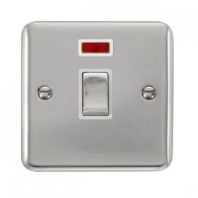 Click Deco Plus 20A DP Switch with Neon DPCH723WH