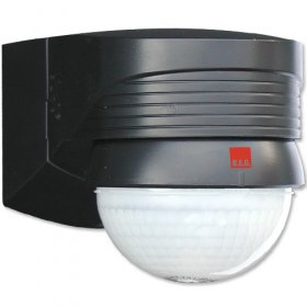 BEG 91028 Black Corner IP54 Occupancy Motion Detector 2000W