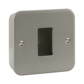 Click Metal Clad 1 Gang Grid Pro Front Plate CL20401