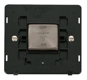 Click Definity 3 Pole Fan Isoloation Switch Insert SIN520BKBS
