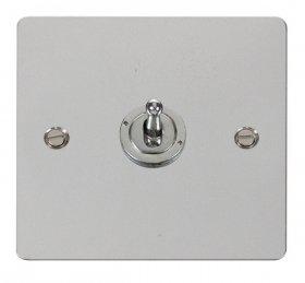 Click Define Polished Chrome 1 Gang 2 Way Toggle Switch FPCH421