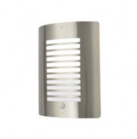 Forum Zinc Sigma S/Steel Panel Slat Wall Lantern ZN-28708-SST
