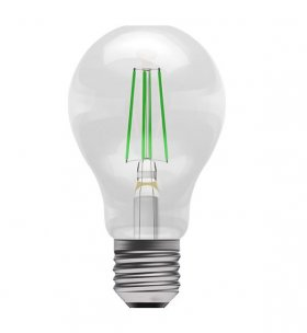 Bell 4W ES LED Green Filament GLS Lamp ­60064