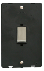 Click Definity 45A DP Vertical Switch Insert SIN502BKSS
