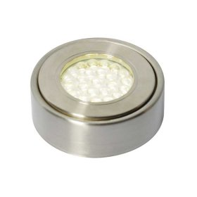 Laghetto LED Circular Cabinet Light Satin Nickel 3000K CUL-25318