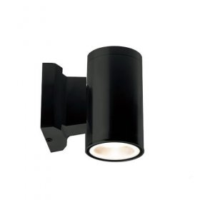 ALL LED Black Decorative Tubular Wall Light IP65 AWLGU/BK/01