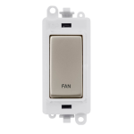Click Grid Pro GM2018PWPN-FN DP Sw Module White Pearl Nickel Fan