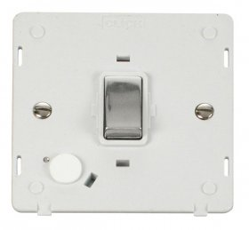 Click Definity 20A DP Switch With Flex Outlet Insert SIN522PWCH