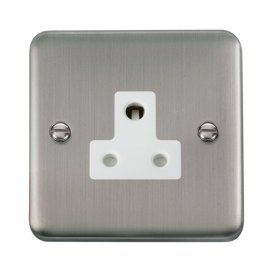 Click Deco Plus 5A Round Pin Socket DPSS038WH