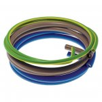 Flexible Tail Pack 1 Mtr 6181Y 2x 25mm Blue Brown 16mm 6491X G/Y