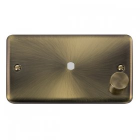 Click Deco Plus DPAB185 Single Dimmer Plate 1000W Max