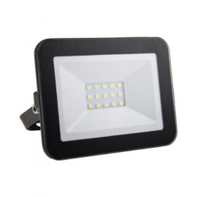 Brackenheath iSpot Black 10W LED Slimline Floodlight 4K I2012B