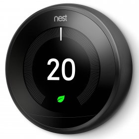 Nest T3029EX Learning Thermostat Black