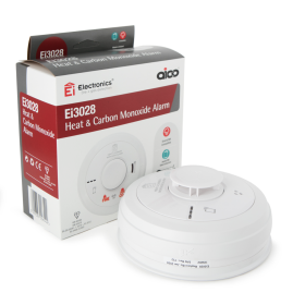 Aico Ei3028 3000 Series Multi-Sensor Heat & CO2 Alarm SmartLINK