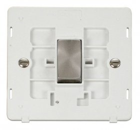 Click Definity 1 Gang 2 Way Switch Insert SIN411PWBS