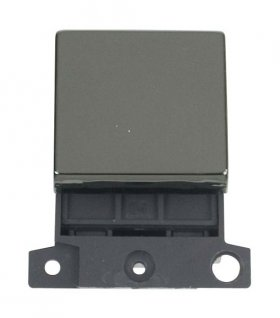 Click MiniGrid MD022BN Black Nickel 20A DP Switch Module