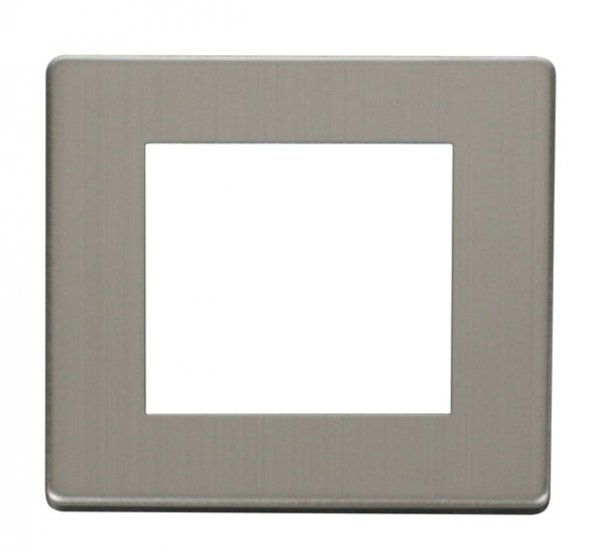 Click Definity Single Media Plate 2G Cover Plate SCP311SS