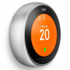 Nest T3028GB Learning Thermostat Stainless
