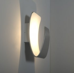 KSR Scoop 13W Colour Toning LED Wall Light Aluminium KSR7267ALU