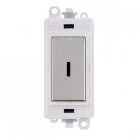 Click Grid Pro GM2003PW 2 Way Key Switch Module White