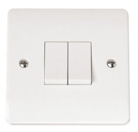 Click Mode 2 Gang 2 Way Switch CMA012