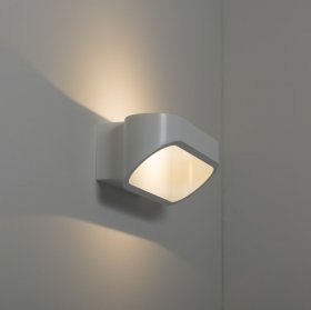 KSR Orsay Small 5W Warm White 3000K LED Wall Light White KSR7260