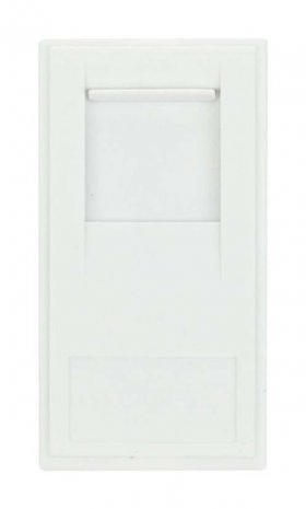 Click New Media MM470WH RJ11 Outlet Module White