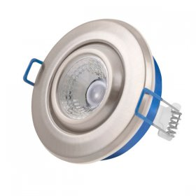 Inceptor Nano 5 Adjustable Satin Chrome LED Downlight Cool White