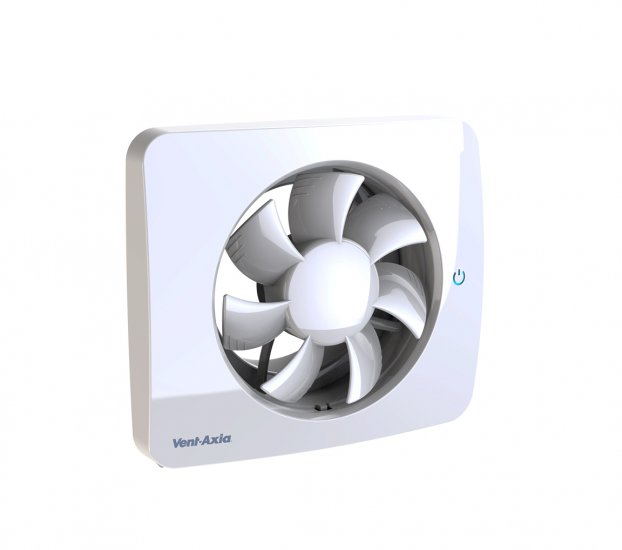 Vent-Axia PureAir Sense Bathroom Fan with Odour Detection 479460