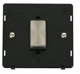 Click Definity 45A DP Switch Single Plate Insert SIN500BKBS