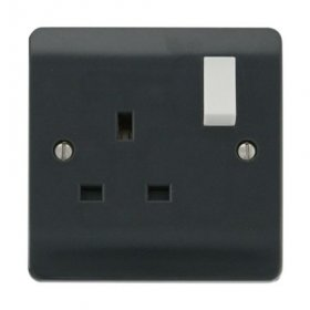 Click Mode 13A Single Switched Socket CMA035