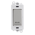 Click Grid Pro GM2018PWCH-BL DP Module White Pol/Chrome Boiler