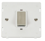 Click Definity 45A DP Switch Single Plate Insert SIN500PWSS