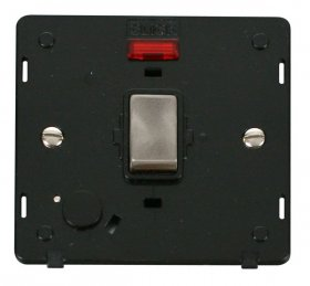 Click Definity 20A DP Switch With F/O Neon Insert SIN523BKBS
