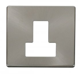 Click Definity 13A Switched Fused Spur Cover Plate SCP251BS