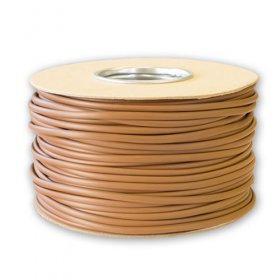 3mm Brown PVC Sleeving 100M Drum