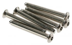 Click SP625 3.5x25mm Long Chrome Security Screws