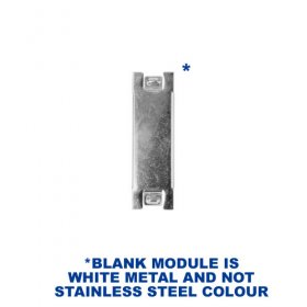 Live Electrical Metal Blank for Domestic Consumer Units MCUBLANK