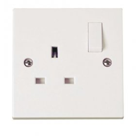 Click Polar 13A 1 Gang DP Switched Socket PRW035