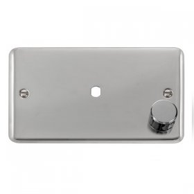 Click Deco Plus DPCH185 Single Dimmer Plate 1000W Max