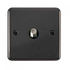 Click Deco Plus Single Satellite Socket DPBN156BK