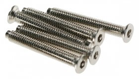 Click SP622 3.5x22mm Long Chrome Security Screws